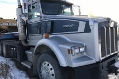 1990 Kenworth Truck Year: 1990 Make: enworth Model: T 800 Style: Engine: C 15 Cat Transmission: 18 Spd Interior: Good KM: 1.4 mil Add info: 40,000 lb winch truck Price: $25,000 or OBO