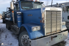 1986 Gravel Truck Year: 1986 Make: Freightliner Model: Gravel truck Style: Conventional Engine: 425 B Cat Transmission: 15 Spd Interior: KM: 1.2 mil Add info: 15 fr box and hitch Price: $20,000 or OBO