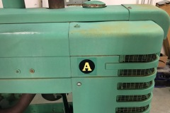 JD Tractor Year: c. 1940 Make: JD Model: A Style:  Engine: A Transmission: Interior: KM: Add info: Runs, new paint Price: $4500 or OBO
