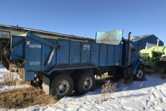 1996-Louiville-Spreader-Truck Spreader Truck Year: 1996 Make: Ford Model: Louisville Style: Tandem Engine: 8.3 Cummins Transmission: 10 Spd. KM's: 500,000 Add info: Comes with a 600 PTO Mckee Spreader Price: $30,000 OBO